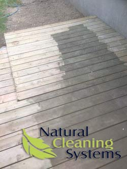 Residential Power Washing - Deck