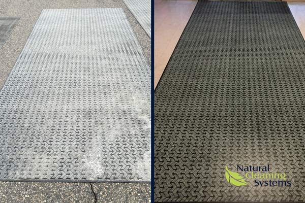 Building Entry Mat Cleaning